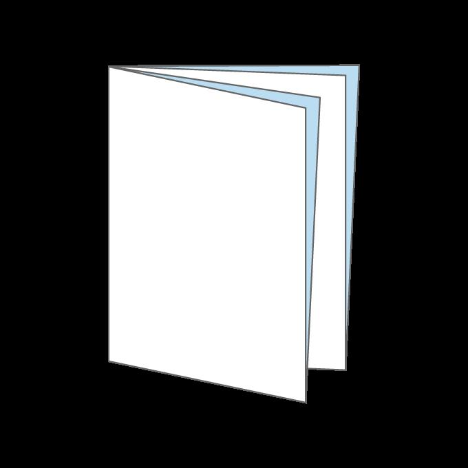 ページ(クロス)折り